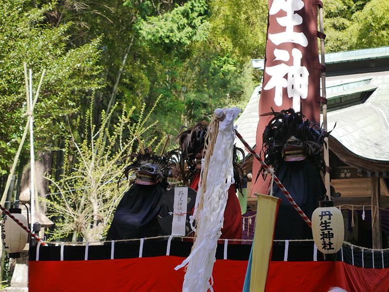『丹生神社の棒ささら(市指定無形民俗文化財)』の画像