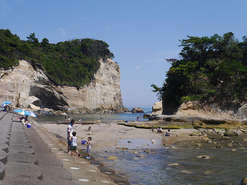 『高戸小浜海岸(拡大)』の画像