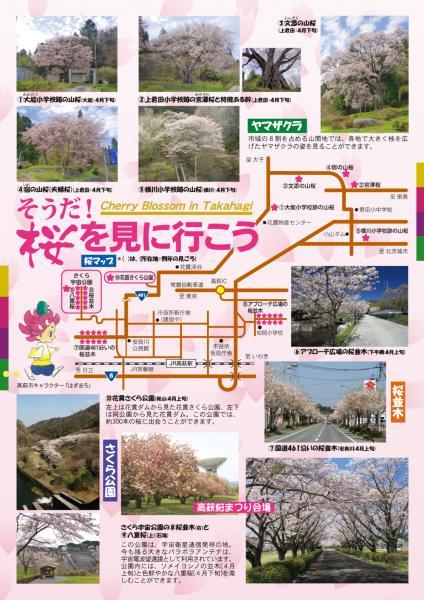 『桜まつりチラシウラ』の画像